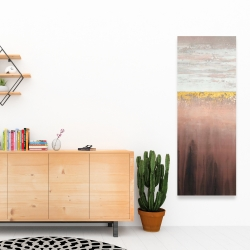 Canvas 16 x 48 - Golden pink