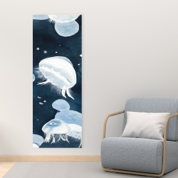 Canvas 16 x 48 - Jellyfishs