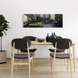 Canvas 16 x 48 - In the city
