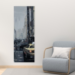 Canvas 16 x 48 - New york in the dark
