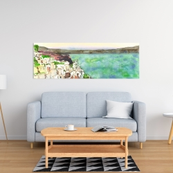 Canvas 16 x 48 - Landscape of crete