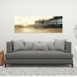 Canvas 16 x 48 - Sunset at the beach