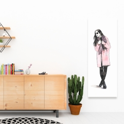 Canvas 16 x 48 - Woman spring look