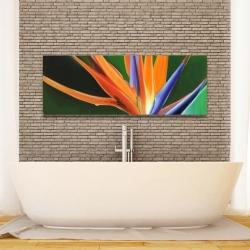 Canvas 16 x 48 - Bird of paradise flower