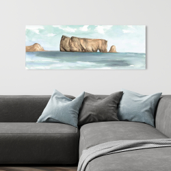 Canvas 16 x 48 - Rocher percé