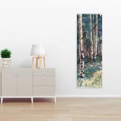 Canvas 16 x 48 - Birches