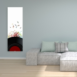 Canvas 16 x 48 - Notes from a vinyl record