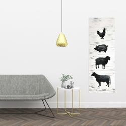 Canvas 16 x 48 - Farm animals