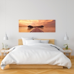 Canvas 16 x 48 - Sea villas