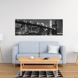 Canvas 16 x 48 - City under the night