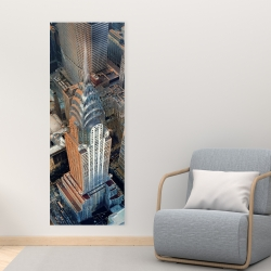 Canvas 16 x 48 - Chrysler building at nyc