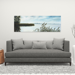 Canvas 16 x 48 - Quiet lake