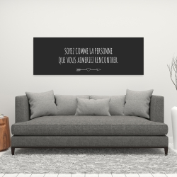Canvas 16 x 48 - Love yourself