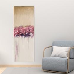 Canvas 16 x 48 - Vintage flower cluster