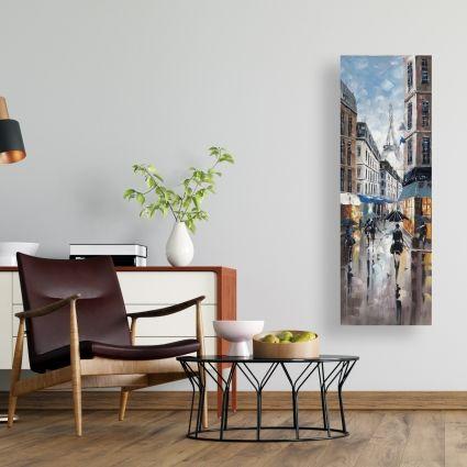 Rue de paris bleu