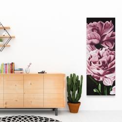 Canvas 16 x 48 - Pink peonies