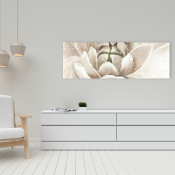 Canvas 16 x 48 - Delicate chrysanthemum