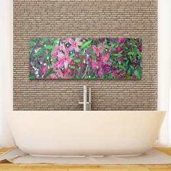 Canvas 16 x 48 - Cherry tree blooming