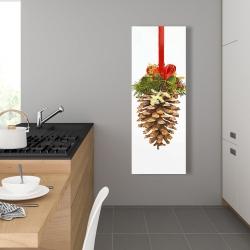 Canvas 16 x 48 - Christmas pine cone
