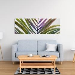 Toile 16 x 48 - Feuille de palmier tropical