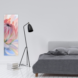 Canvas 16 x 48 - Lotus pastel flower