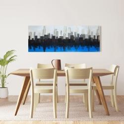 Canvas 16 x 48 - Blue city