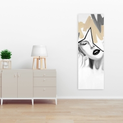 Canvas 16 x 48 - Divided woman