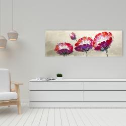 Canvas 16 x 48 - Three wild flowers