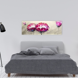 Canvas 16 x 48 - Two wild flowers