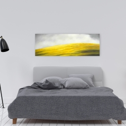 Canvas 16 x 48 - Yellow hill