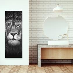 Canvas 16 x 48 - Lion portrait