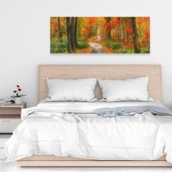 Canvas 16 x 48 - Autumn trail