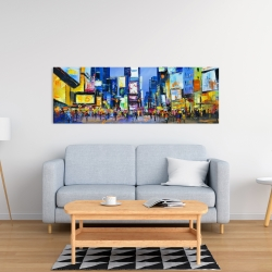 Canvas 16 x 48 - Cityscape in times square