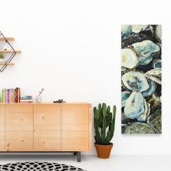 Canvas 16 x 48 - Oyster shells