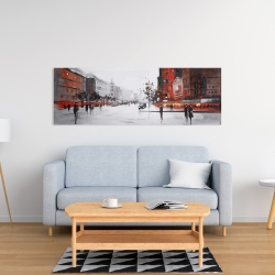 Canvas 16 x 48 - Classic street scene
