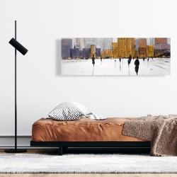 Canvas 16 x 48 - City on the horizon