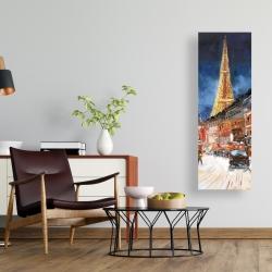 Canvas 16 x 48 - Illuminated paris