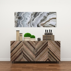 Canvas 16 x 48 - Abstract geode