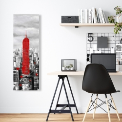 Canvas 16 x 48 - Empire state building of new york