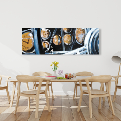 Canvas 20 x 60 - Vintage car interior