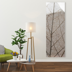 Canvas 20 x 60 - Translucent dried leaves