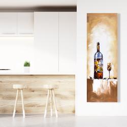 Canvas 20 x 60 - White wine