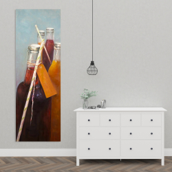 Canvas 20 x 60 - Summer drinks