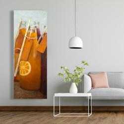 Canvas 20 x 60 - Orange summer drinks