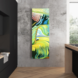 Canvas 20 x 60 - Terraced rice fields to vietnam