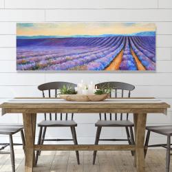 Canvas 20 x 60 - Lavender fields