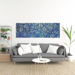 Canvas 20 x 60 - Leaves patterns