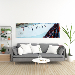 Canvas 20 x 60 - Game of hockey