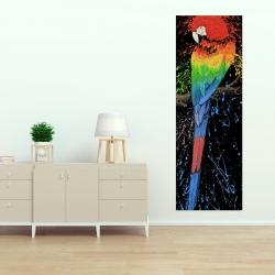 Canvas 20 x 60 - Rainbow parrot