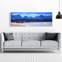 Canvas 20 x 60 - Scotland calm eddies